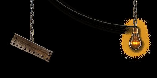 Escape Game Online Glühbirne und Holzbrett