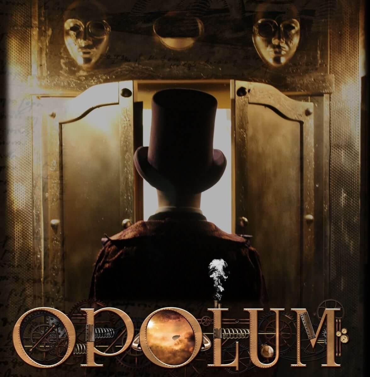 OPOLUM Escape Game Online Plakat mystisch