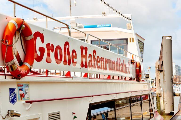 Escape Game Hamburg Große Hafenrundfahrt Schiff