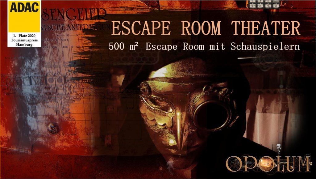 Escape Game Theater - Escape Room mit Schauspielern