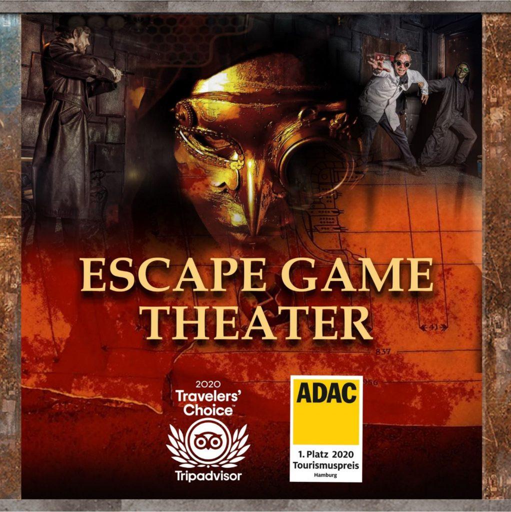 Escape Game Theater Plakat