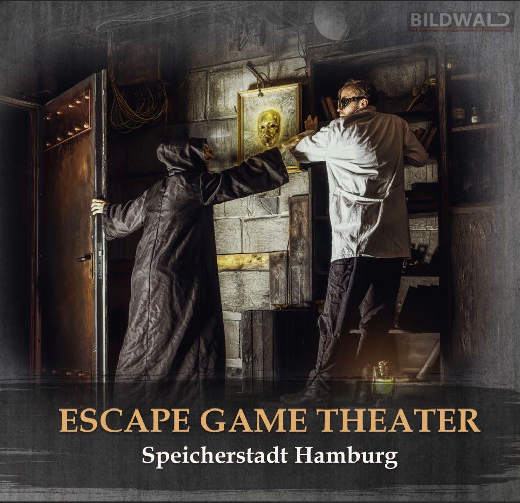 Escape Game Hamburg mysteriöse Figuren