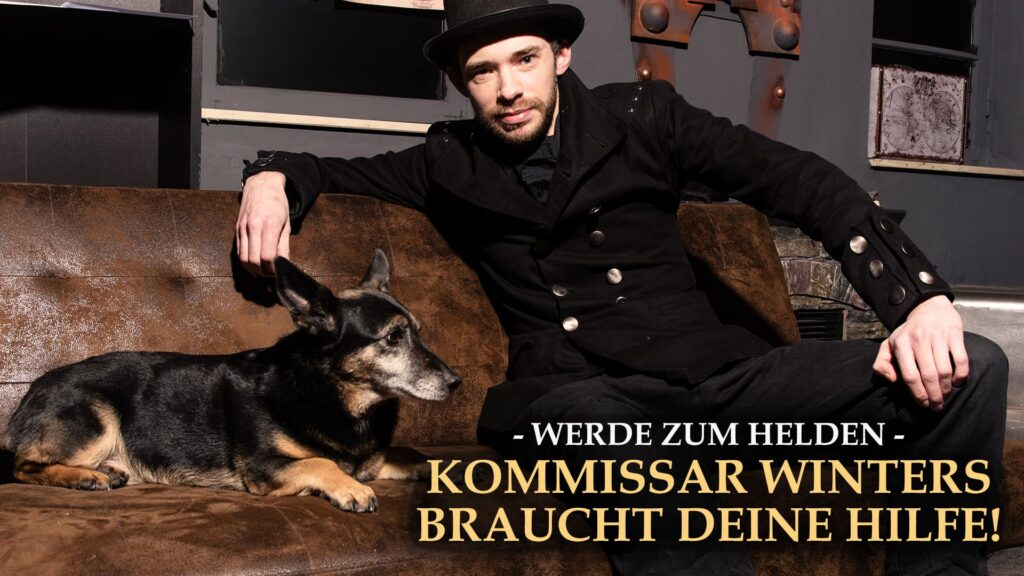 Mann mit Hund auf der Couch - Escape Game Online