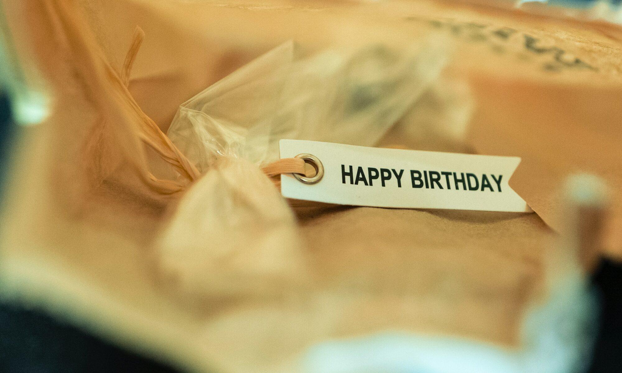 Personalisiertes Geburtstagspiel